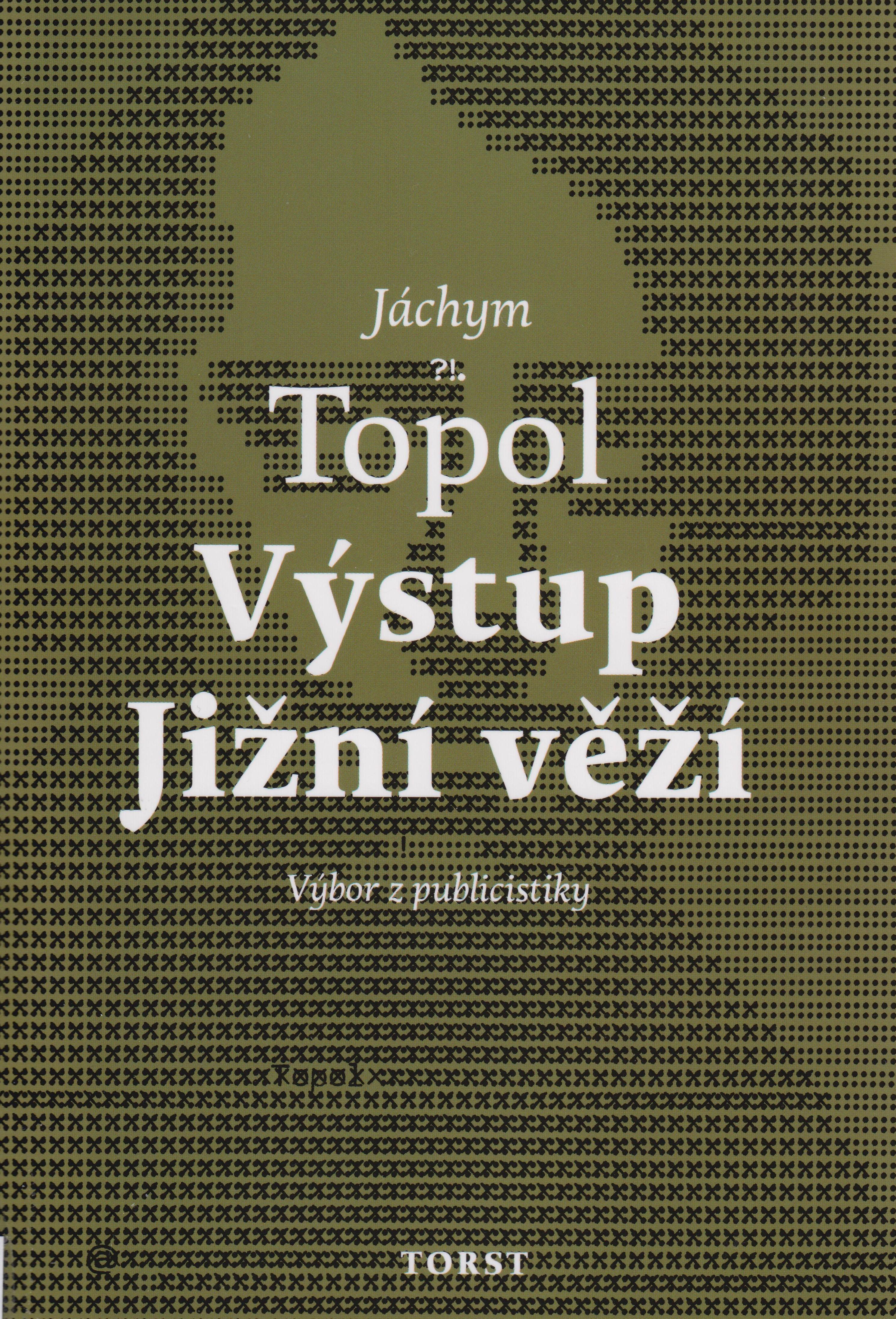 7606b2a65 Básník a prozaik Jáchym Topol se v uplynulých třech desetiletích uplatňoval  také na poli žurnalistiky. Jako redaktor je spojen s časopisy Jednou ...